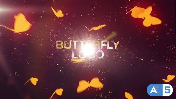 VideoHive Butterfly Logo Reveal 24971218