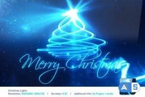 Videohive Christmas Lights 3649071