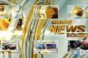 Videohive – Morning News Intro – 23475763