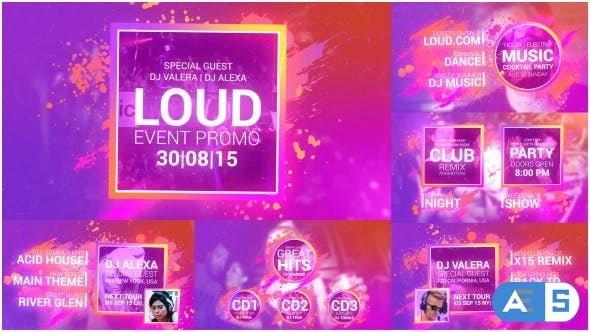 Videohive – Loud Event Promo – 12612621