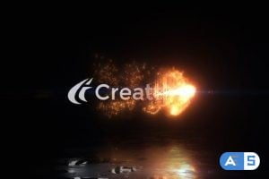 Videohive – Magical Fire Reveal – 25055366