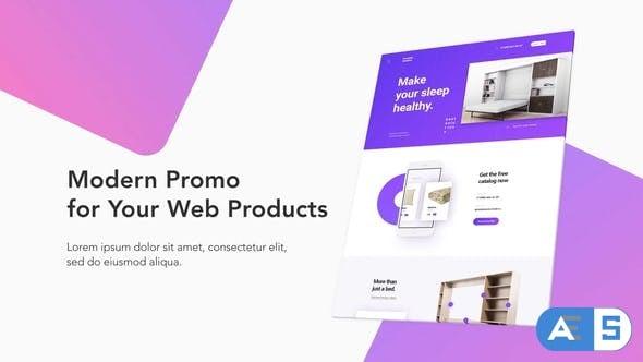 Videohive – Modern Website Promo – 22319791