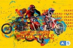 Videohive – Motorcycle Grunge Opener – 23593255
