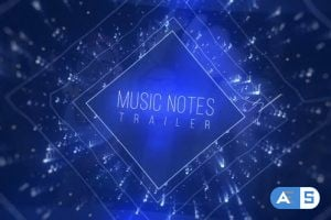 Videohive – Music Notes Trailer – 19732057