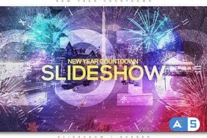 Videohive – New Year Countdown Slideshow | Opener – 20920864