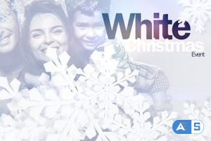 Videohive – White Christmas Event – 13697163
