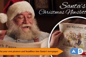 Videohive Santa's Christmas Newsletter 18914499