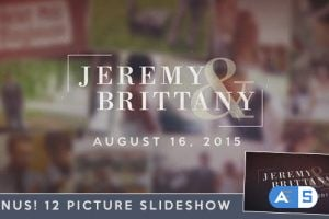 Videohive – Wedding Moments Slideshow – 11942444
