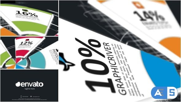Videohive – Pie Charts Infographic Opener – 8142352