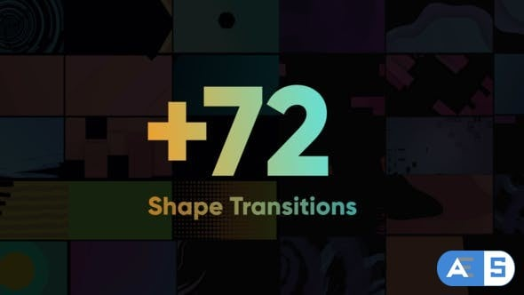 Videohive – Shape Transitions Big Pack – 24393902