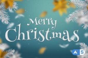 Videohive – White & Gold Christmas Slideshow – 22835869