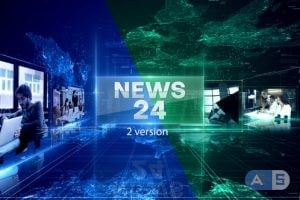 Videohive – News 24 Intro – 24605790