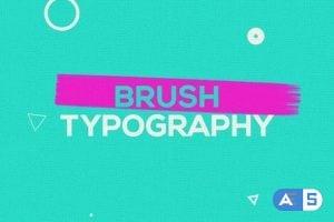 Videohive – Brush Typography Promo – 22314276