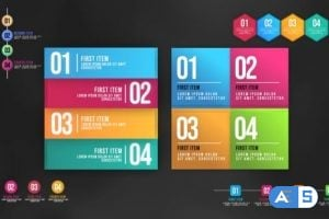 Videohive – Infographic Animated Lists – 25138752