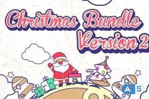 Videohive Christmas Vector Bundle 13441601