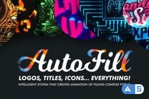 Videohive AutoFill – Automatically Animate Titles, Logo Reveals, Animate Icons 25015480