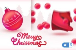 Videohive 16 Christmas Toys Logo Openers 19046968 (Sound effects are included)