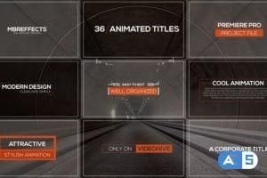 Videohive – Modern Titles & Lower Thirds – Mogrt – 25041503