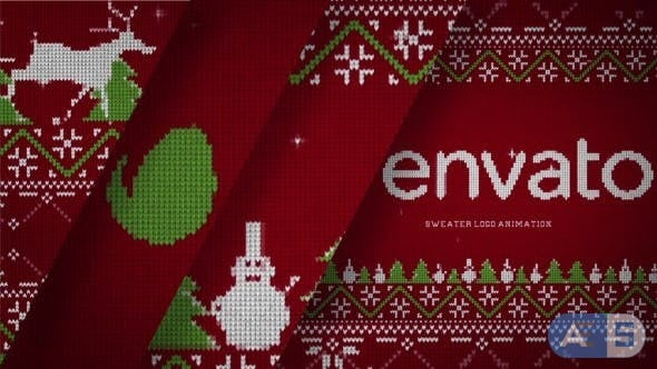 Videohive – Christmas Sweater Logo – 20962947