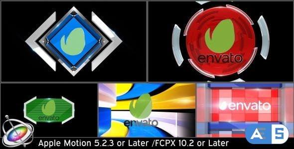 Videohive – Broadcast Logo Transition Pack V3 – Apple Motion – 15693654