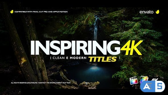 Videohive – Inspiring Titles For Final Cut Pro X – 20505350