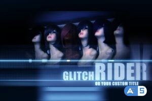 Videohive – Ride On Glitch – Titles – 1618697