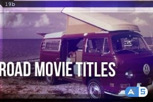Videohive – Road Movie – Titles – 3394934