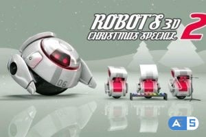 VideoHive – Robots 3D Christmas Special II 3560631