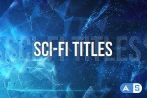 VideoHive Sci-Fi Titles 23843005