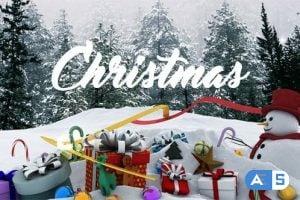 Videohive Christmas 18935362