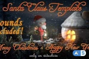 Videohive – Santa Claus – Merry Christmas and Happy New Year – 13891484