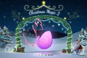 Videohive – Santa-Christmas-Magic-2 – 18969506