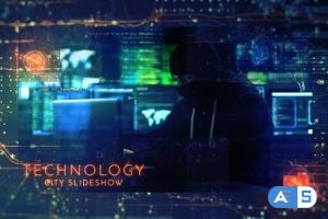 Videohive – Technology City Slideshow – 22376440