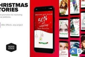 Videohive – Christmas Social Marketing – 25103686