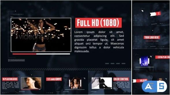 Videohive – Visual Photo Futuristic Slider – 7616632