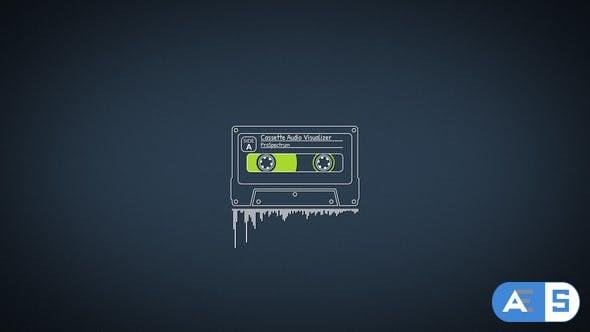 Videohive – Cassette Audio Visualizer – 21539302