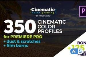 Videohive – Cinematic Color Presets – Premiere Pro – 23572661