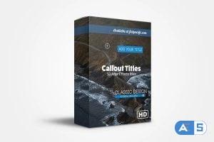 FlatPackFx – Callout Pack – After Effects