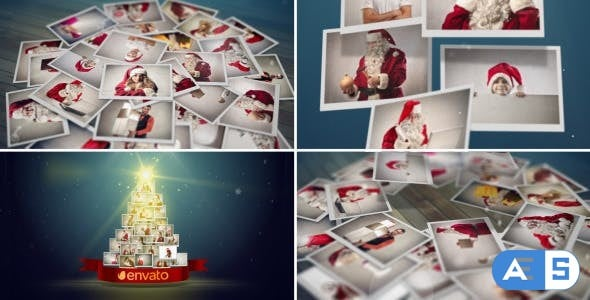 Videohive – Christmas Photo Greetings – 6260649