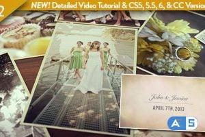 VideoHive – Wedding Photos Slideshow 4565295