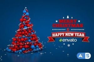 Videohive Christmas (4 in 1) 19017319
