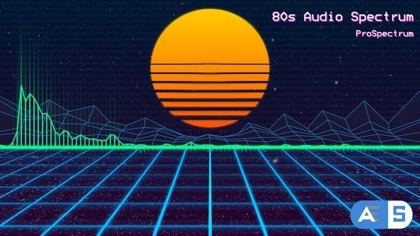 Videohive – 80s Audio Spectrum – 21427327