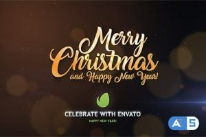 Videohive Christmas Magic Particles 19050272