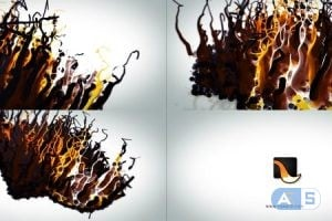 Videohive – Liquid Wax Logo Intro – 17309663