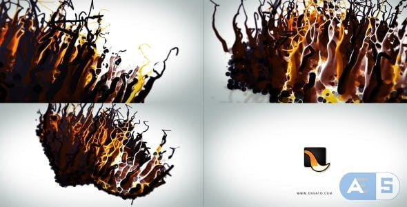 Videohive – Liquid Wax Logo Intro – 17309663