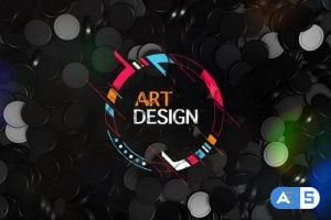 Videohive – Falling Shapes Projection Logo Reveal – 24254260