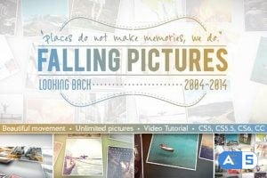 Videohive – Falling Pictures – 8353818