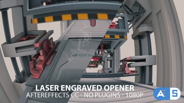 Videohive – Laser Engraved Opener – 21788766