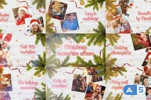 VideoHive Christmas Memories Album 25131654