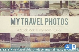 Videohive – Flipping Pictures Slideshow – 6907570